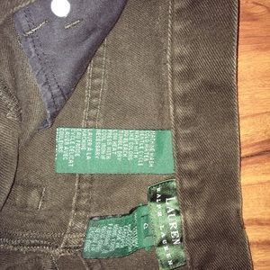 Vintage Ralph Lauren Dark Olive Green Jeans